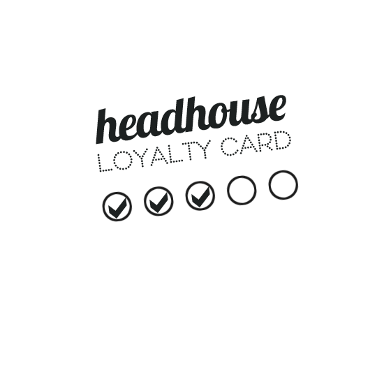 Get a Headhouse hair salon loyalty card and get 50% off - special offers
