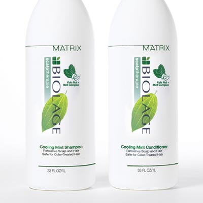 Matrix Biolage scalp therapie hair products