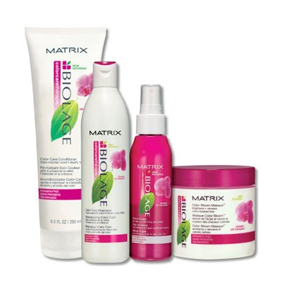 Matrix Biolage range of hair products