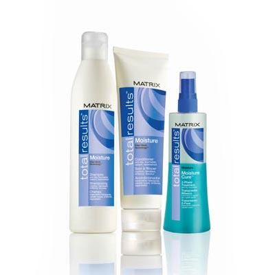 Matrix Total Results range of hair products