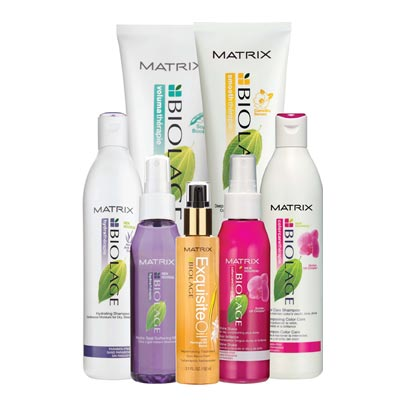 Matrix Biolage hair products